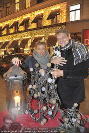 Lichterketten Charity - Tuchlauben - Di 29.11.2011 - 30