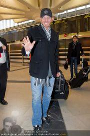 Ian Ziering Ankunft - Flughafen Wien - Fr 09.12.2011 - 5