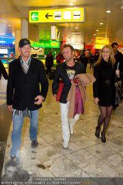 Ian Ziering Ankunft - Flughafen Wien - Fr 09.12.2011 - 6