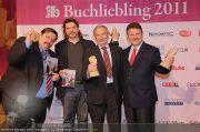 Buchliebling Gala 2011 - Rathaus - Mi 01.06.2011 - 10