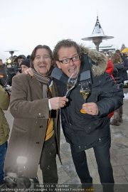 Clicquot in the snow - Hotel A-Rosa - Fr 20.01.2012 - 9