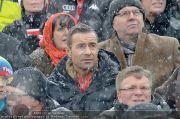 VIPs beim Rennen - Hahnenkamm - Sa 21.01.2012 - 17