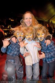CATS Premiere - CATS Theaterzelt - Do 02.02.2012 - 2