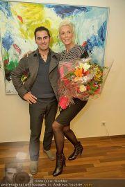 Brigitte Nielsen Ankunft - Flughafen Schwechat - Di 14.02.2012 - 26