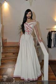 Conchita Wurst Kleid - Tu felix Austria - Di 14.02.2012 - 1