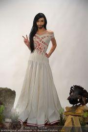 Conchita Wurst Kleid - Tu felix Austria - Di 14.02.2012 - 12