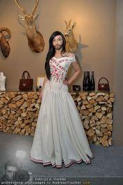 Conchita Wurst Kleid - Tu felix Austria - Di 14.02.2012 - 2