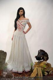 Conchita Wurst Kleid - Tu felix Austria - Di 14.02.2012 - 3