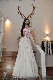 Conchita Wurst Kleid - Tu felix Austria - Di 14.02.2012 - 8