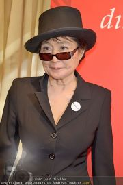 Yoko Ono PK - Hotel Sacher - Fr 02.03.2012 - 1