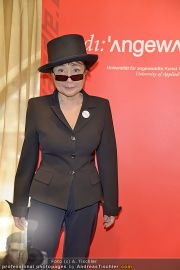 Yoko Ono PK - Hotel Sacher - Fr 02.03.2012 - 13