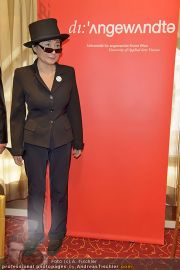 Yoko Ono PK - Hotel Sacher - Fr 02.03.2012 - 16