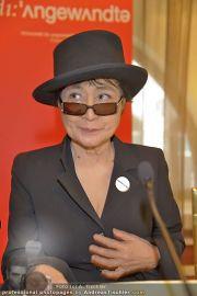 Yoko Ono PK - Hotel Sacher - Fr 02.03.2012 - 18