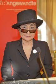 Yoko Ono PK - Hotel Sacher - Fr 02.03.2012 - 19