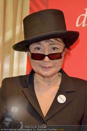 Yoko Ono PK - Hotel Sacher - Fr 02.03.2012 - 2