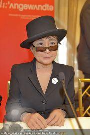 Yoko Ono PK - Hotel Sacher - Fr 02.03.2012 - 4