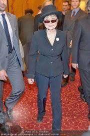 Yoko Ono PK - Hotel Sacher - Fr 02.03.2012 - 8
