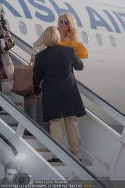 Pamela Anderson - Flughafen Wien - So 04.03.2012 - 8