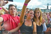 David Guetta - Publikum - Wiener Krieau - Sa 11.08.2012 - 15