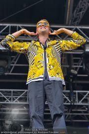 David Guetta - Stage - Wiener Krieau - Sa 11.08.2012 - 18
