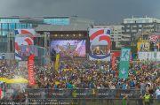 David Guetta - Stage - Wiener Krieau - Sa 11.08.2012 - 19