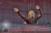 David Guetta - Stage - Wiener Krieau - Sa 11.08.2012 - 2