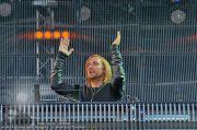 David Guetta - Stage - Wiener Krieau - Sa 11.08.2012 - 21