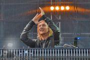 David Guetta - Stage - Wiener Krieau - Sa 11.08.2012 - 22