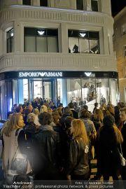 Store Opening - Armani Vienna - Do 08.11.2012 - 59