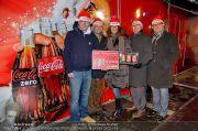 CocaCola Weihnachtstruck - Palais Liechtenstein - So 16.12.2012 - 13