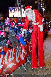 CocaCola Weihnachtstruck - Palais Liechtenstein - So 16.12.2012 - 42