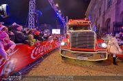 CocaCola Weihnachtstruck - Palais Liechtenstein - So 16.12.2012 - 82