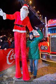 CocaCola Weihnachtstruck - Palais Liechtenstein - So 16.12.2012 - 91