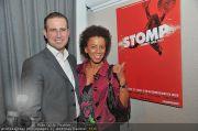 Stomp Premiere - MQ Halle E - Di 31.01.2012 - 14