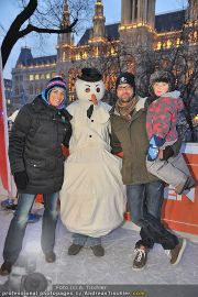 Superfit Charity - Rathausplatz - Mi 01.02.2012 - 13