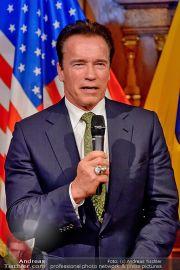 Schwarzenegger Pröll - Palais Niederösterreich - Do 31.01.2013 - 14