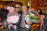 Ankunft Sorvino - Grand Hotel Wien - Di 05.02.2013 - 2