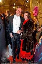 Opernball Feststiege - Staatsoper - Do 07.02.2013 - 107