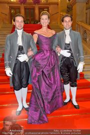 Opernball Feststiege - Staatsoper - Do 07.02.2013 - 14