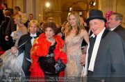 Opernball Feststiege - Staatsoper - Do 07.02.2013 - 2