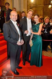 Opernball Feststiege - Staatsoper - Do 07.02.2013 - 34