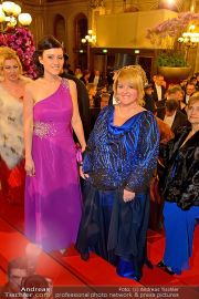 Opernball Feststiege - Staatsoper - Do 07.02.2013 - 35
