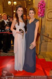 Opernball Feststiege - Staatsoper - Do 07.02.2013 - 36