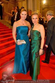 Opernball Feststiege - Staatsoper - Do 07.02.2013 - 37