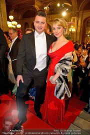Opernball Feststiege - Staatsoper - Do 07.02.2013 - 50