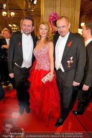 Opernball Feststiege - Staatsoper - Do 07.02.2013 - 54