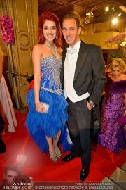 Opernball Feststiege - Staatsoper - Do 07.02.2013 - 62
