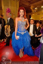 Opernball Feststiege - Staatsoper - Do 07.02.2013 - 64