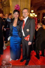 Opernball Feststiege - Staatsoper - Do 07.02.2013 - 65