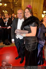 Opernball Feststiege - Staatsoper - Do 07.02.2013 - 71